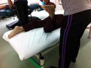 O脚矯正法セミナー風景
