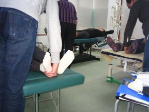 O脚矯正法セミナーの様子